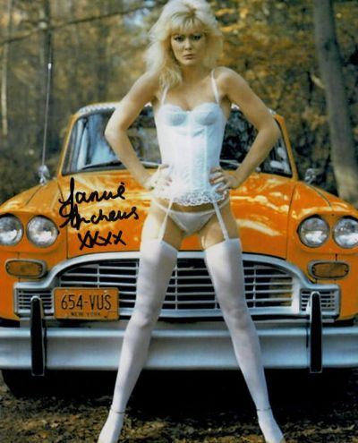Janine Andrews Autograph Signed Photo - Octopussy